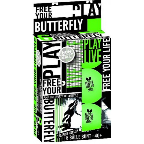 Butterfly - Free Your Lifestyle (6ks)