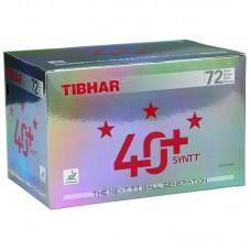 Tibhar 40+ SYNTT *** 72 ks bílé