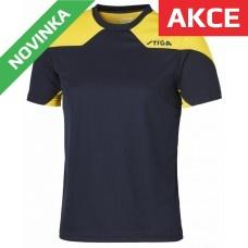 Stiga - Tričko Nova modrá se žlutou